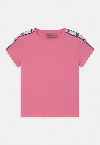 TAPE ID - Print T-shirt - sachet pink