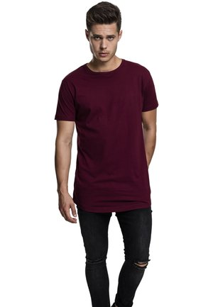 SHAPED LONG TEE DO NOT USE - T-shirt - bas - port