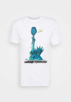 TEE NYC LIBERTY - Print T-shirt - white