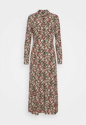 PRINTED DRESS - Maxi šaty - red flower print
