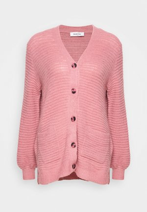 EBBA CARDIGAN - Strikjakke /Cardigans - dusty rose