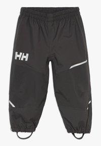 Helly Hansen - SOGN PANT - Kalhoty do deště - ebony - 0