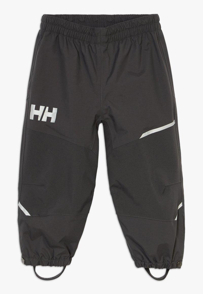 Helly Hansen - SOGN PANT - Kalhoty do deště - ebony