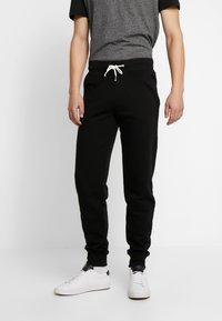 Pier One - Pantaloni sportivi - black - 0