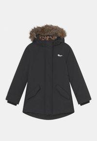Vingino - TESSIE SET - Winter coat - deep black/dark blue/old pink - 1