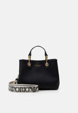Handbag - nero/silver