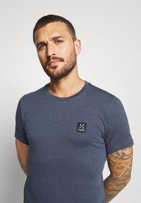 Haglöfs - TEE MEN - Basic T-shirt - dense blue - 3