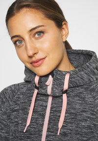 Roxy - ELECT FEELIN - Fleece jacket - anthracite - 3