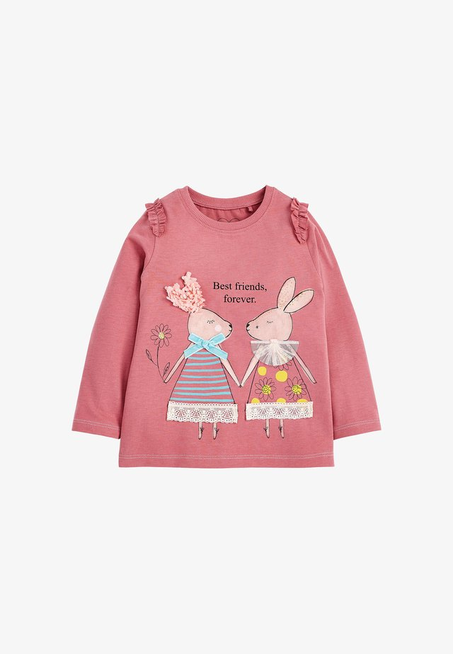 BUNNY - Long sleeved top - pink