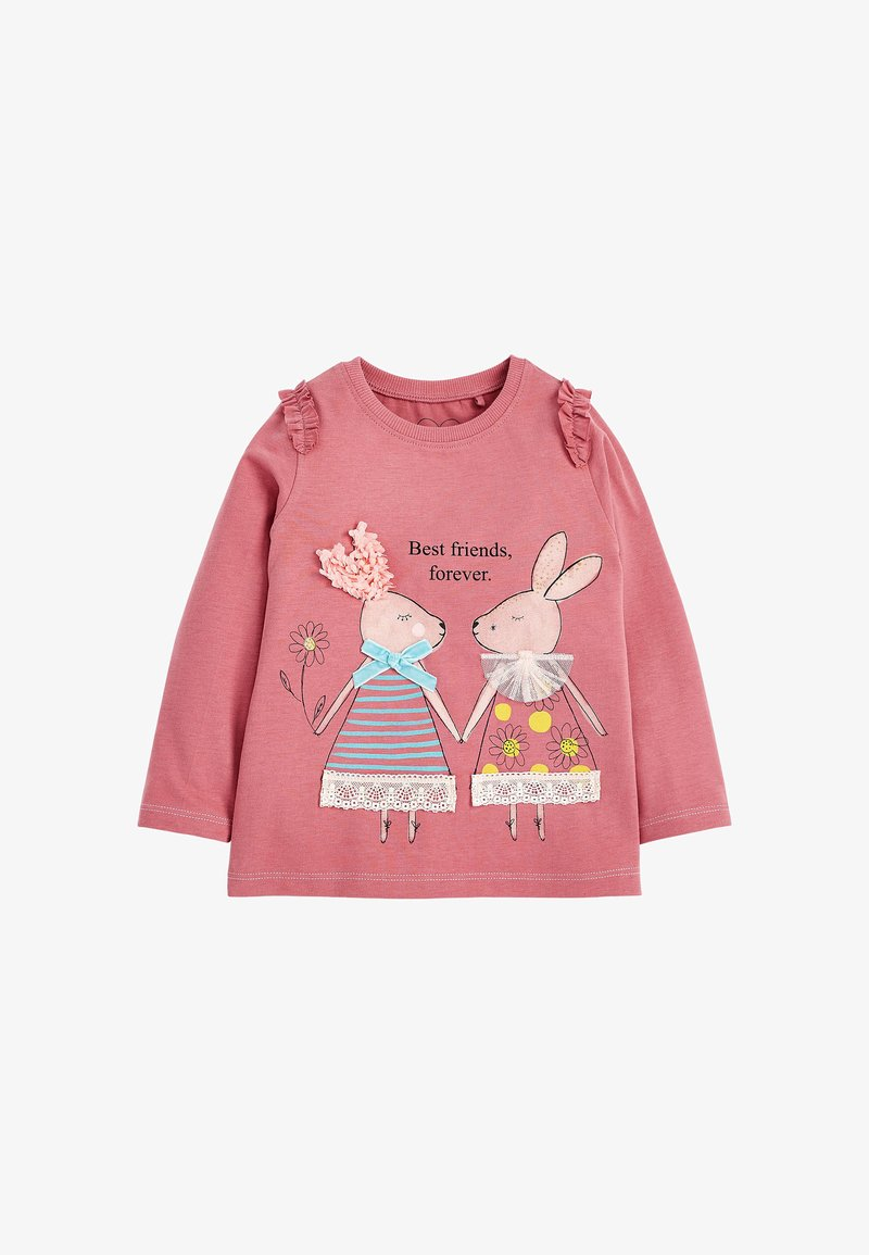 Next - BUNNY - Long sleeved top - pink