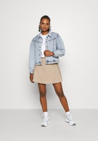 Monki - ULLA SKIRT - A-line skirt - beige - 1