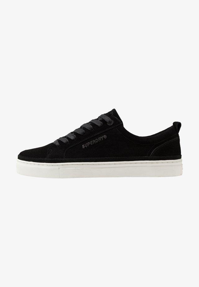 TRUMAN PREMIUM LACE UP - Sneakers laag - black