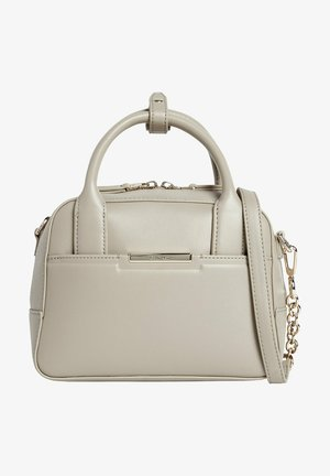 RECYCLED SMALL BOWLING - Handbag - taupe