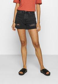 BDG Urban Outfitters - PAX - Farkkushortsit - black - 0