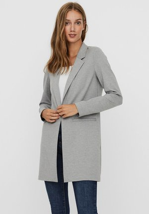 VMCHLOE LONG BOO - Manteau court - light grey melange