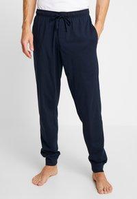 Schiesser - BASIC - Pyjamahousut/-shortsit - dark blue - 0