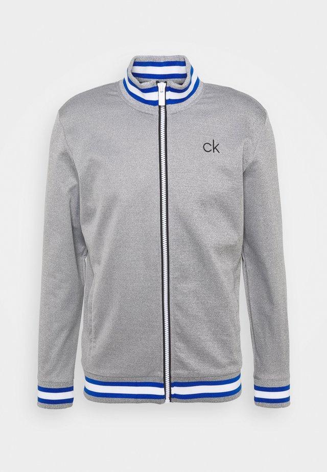 THOMSON FULL ZIP - Sweatshirts - grey marl