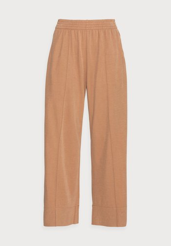 Trousers - khaki brown