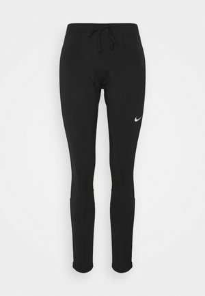 Tights - black/reflective silver