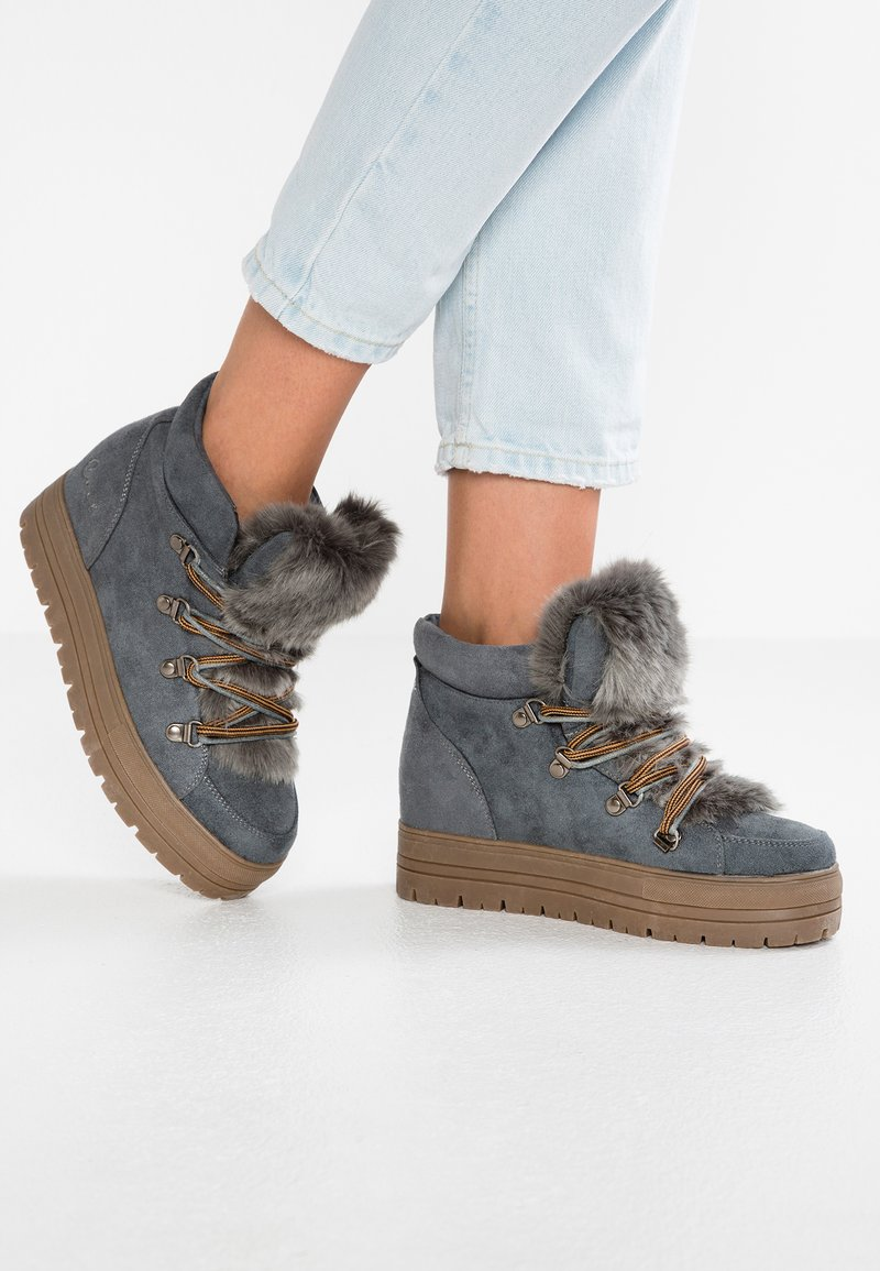 Coolway - OSLO - Ankle boots - grey