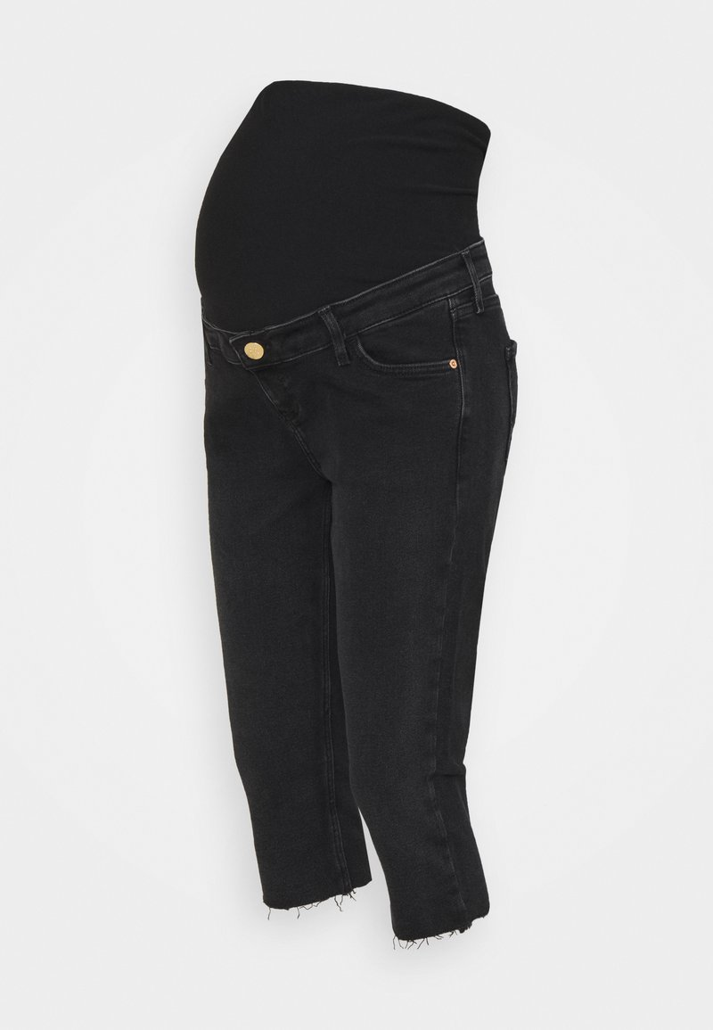 River Island Maternity - Jeansy Slim Fit - washed black
