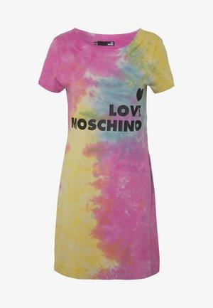 TIE DYE DRESS - Žerzejové šaty - multi-coloured