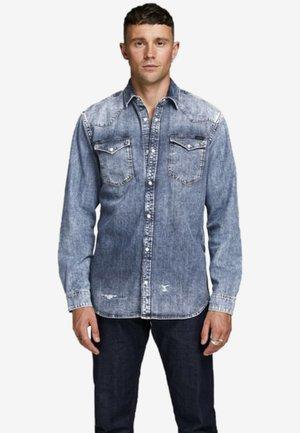 Shirt - blue denim