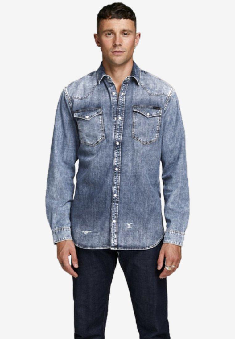 Jack & Jones - Camisa - blue denim