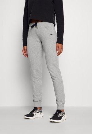 WOMAN LONG PANT - Pantaloni sportivi - grigio melange