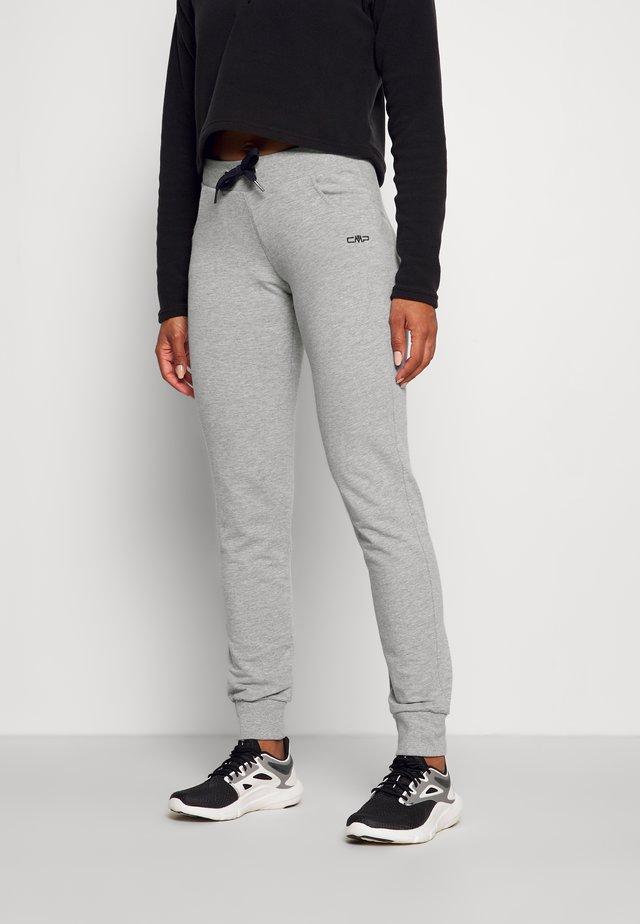 WOMAN LONG PANT - Tracksuit bottoms - grigio melange