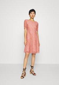 Moss Copenhagen - JAVANA DRESS - Day dress - rose - 0
