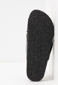 ONLY SHOES - ONLMATHILDA SLIP ON - Slippers - black - 6