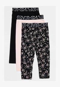 River Island - 3 PACK - Leggings - Trousers - black - 0