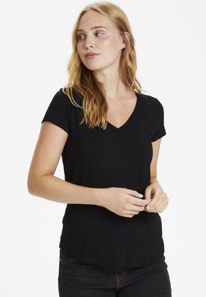 POPPY  - T-shirt basic - black