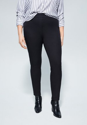 ELASTIC - Trousers - black