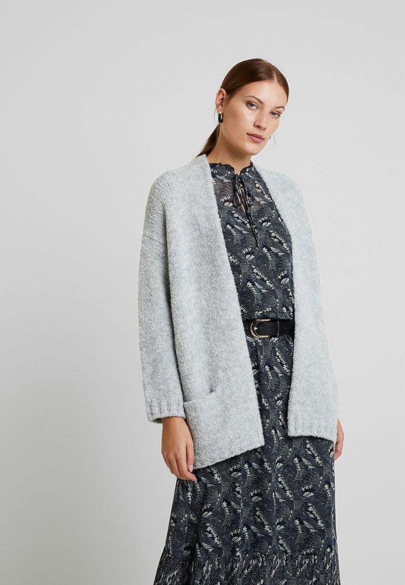 Mavi - POCKET CARDIGAN - Cardigan - light grey melange