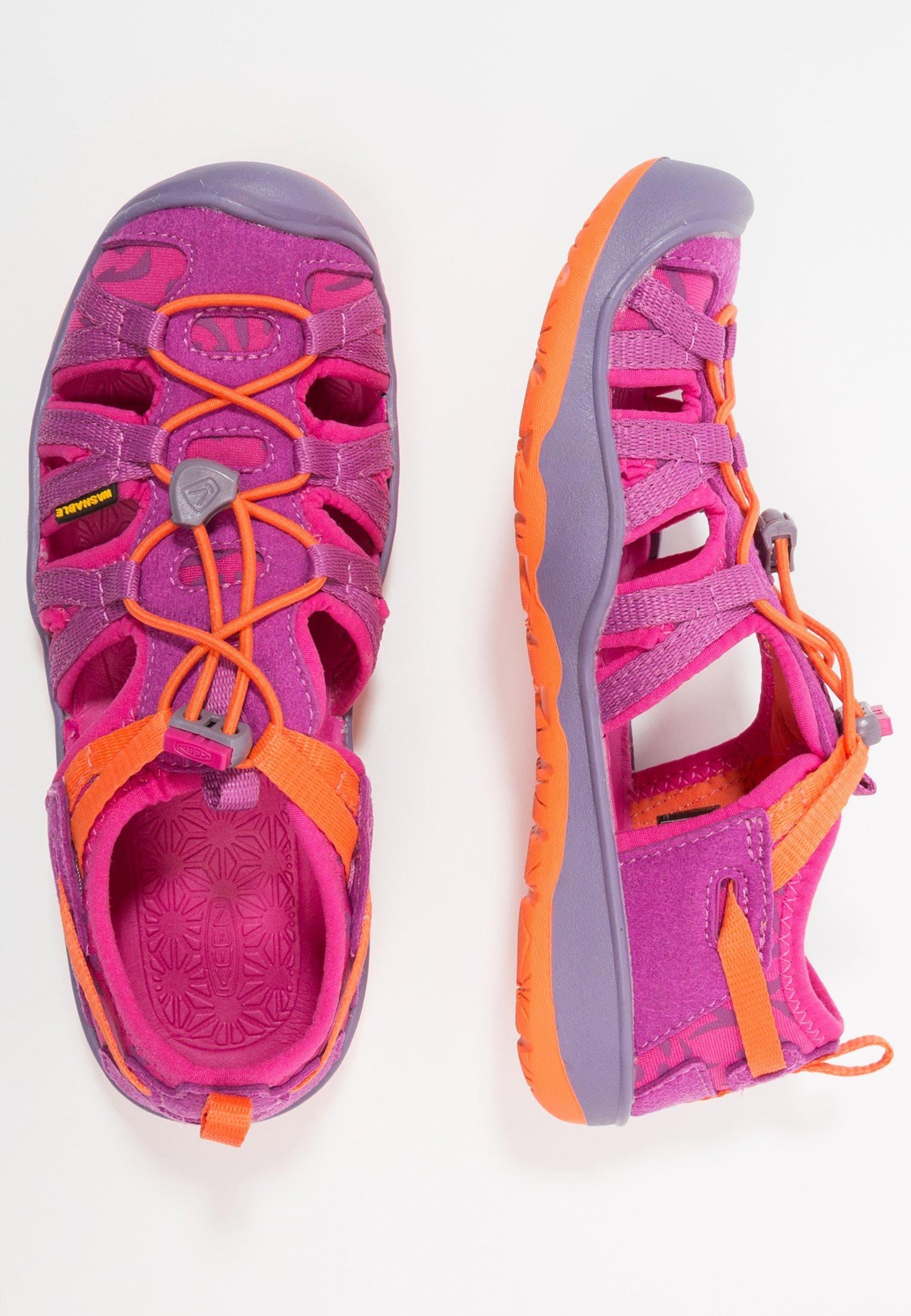 Kids MOXIE  - Walking sandals - purple wine/nasturtium