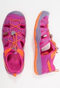 Keen - MOXIE  - Walking sandals - purple wine/nasturtium - 0