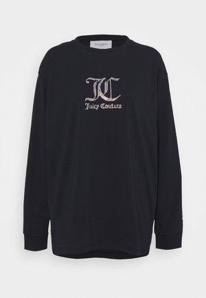 JUNE - Long sleeved top - black