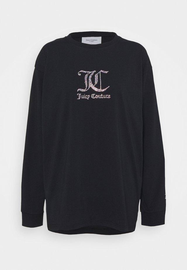 JUNE - T-shirt à manches longues - black