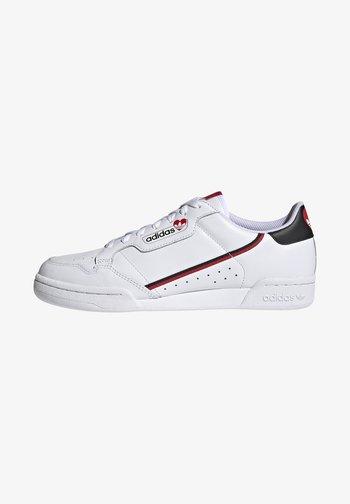CONTINENTAL 80 - Zapatillas - footwear white/core black/scarlet