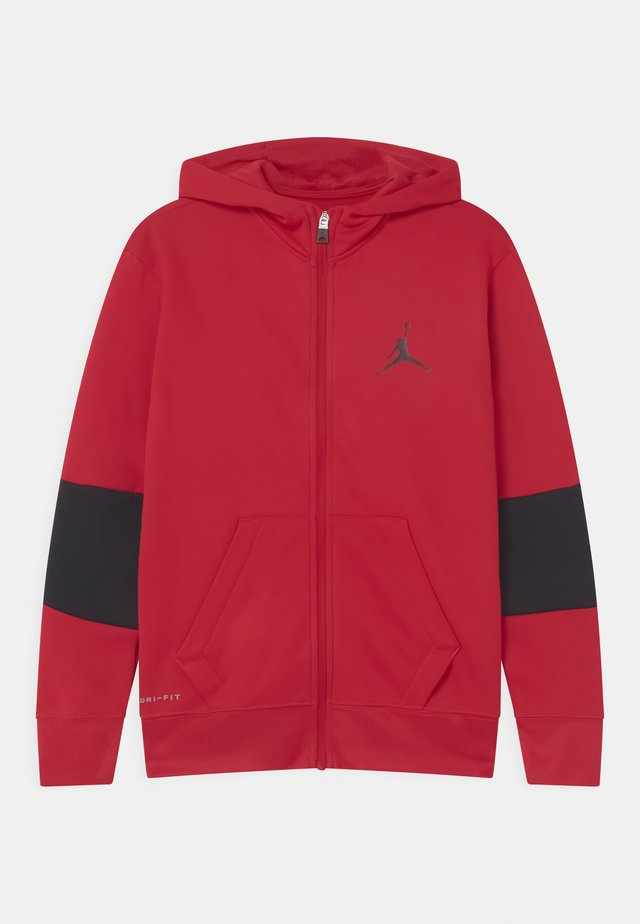 CORE PERFORMANCE THERMA UNISEX - Sweatjacke - gym red