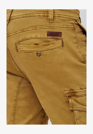 ALEX - Cargo trousers - amber
