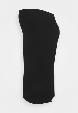 MLKIKA SLIM SKIRT - Kynähame - black