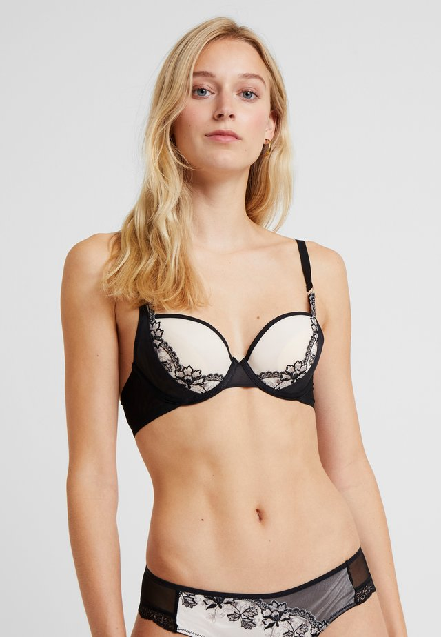 FLORAL HENNA COLLECTION SPACER BRA - Sujetador push-up - black combination