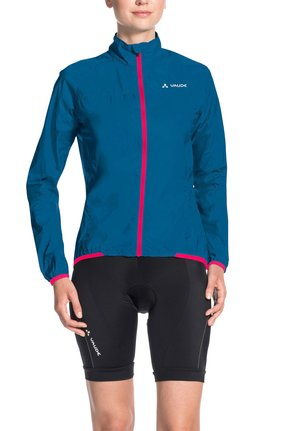 Outdoor jacket - kingfisher/pink