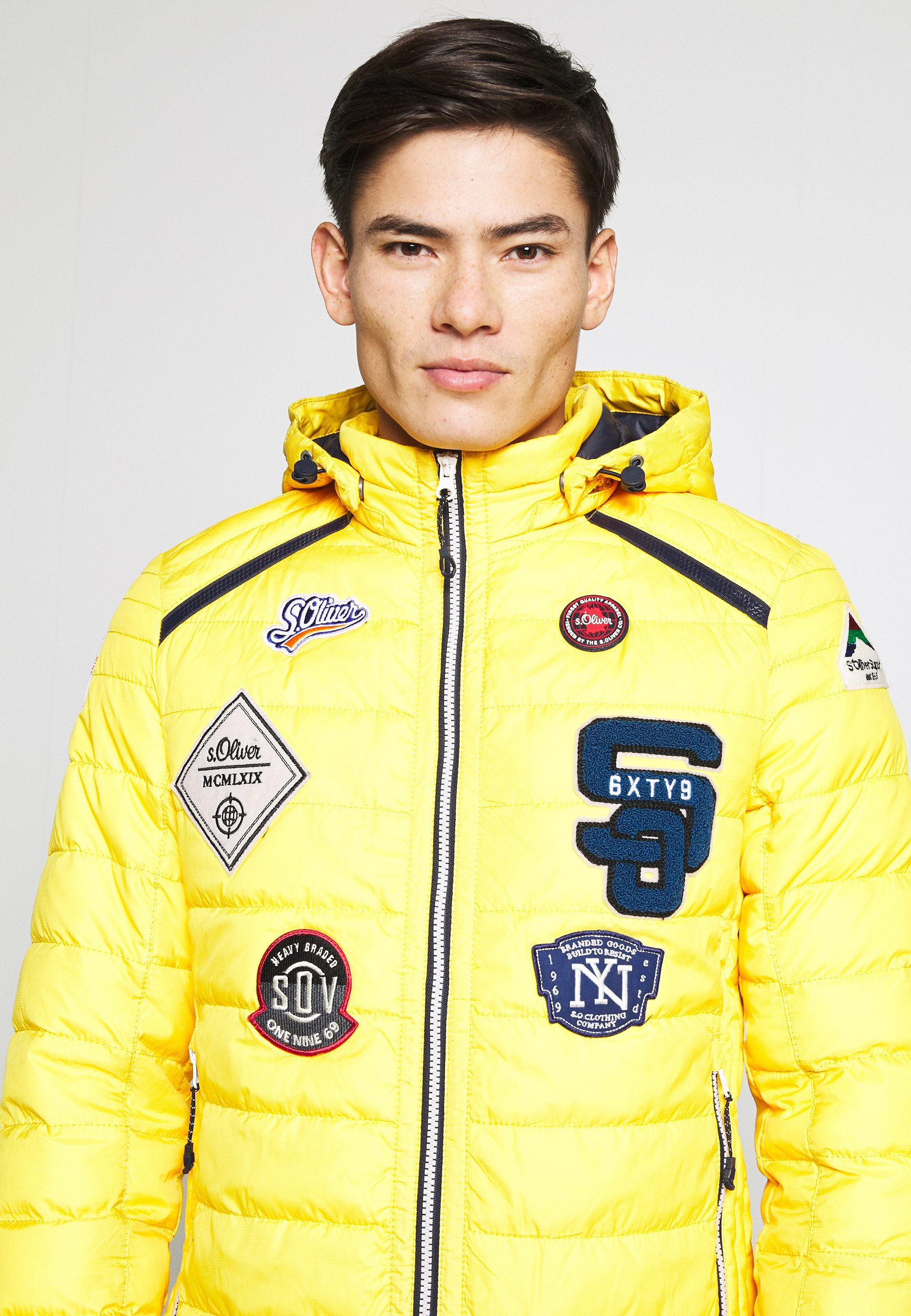 s.Oliver Veste mi-saison - yellow