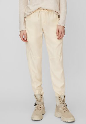 LONTTA - Tracksuit bottoms - raw sand