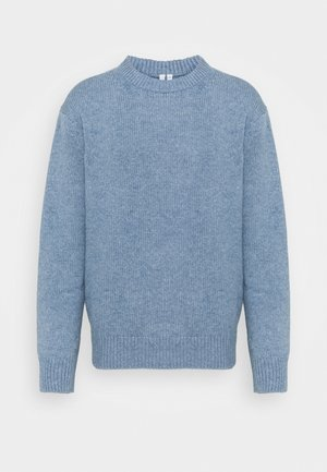 Jumper - Strickpullover - blue dusty light