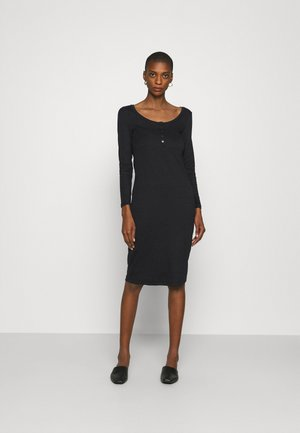 Jersey dress - true black